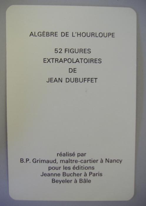 32: JEAN DUBUFFET (1901-1985), Algebre De L'Hourloupe - 4