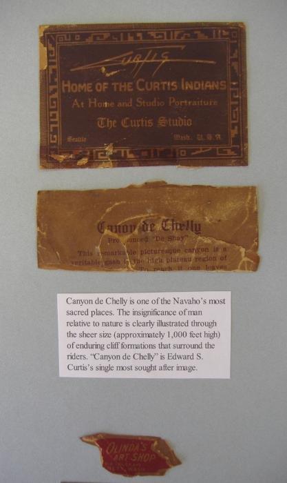 128: Edward S. Curtis Orotone Canon de Chelly Canyon - 4