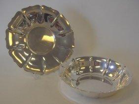 "6: Watson Exemplar Sterling Bowl & Platter, ""Irish"""