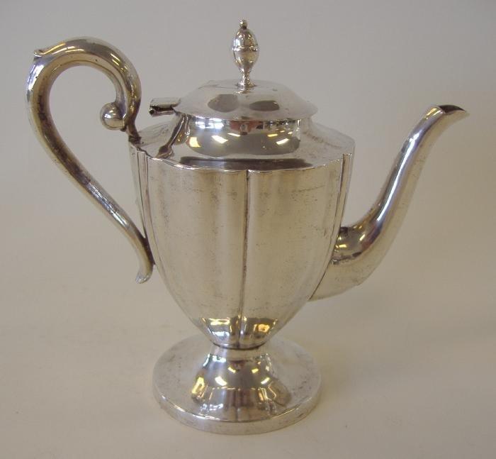15: Sterling Silver Bachelor's Teapot