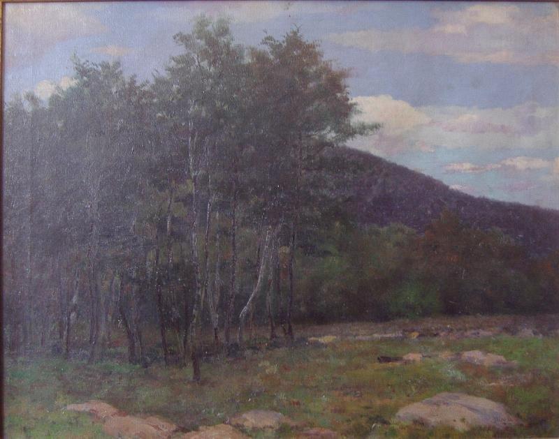 22: Nicola D'Ascenzo (1871-1954) Mt Pocono, 1904