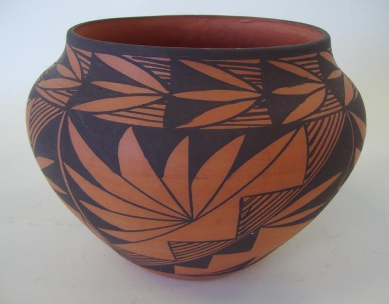 119: Acoma Pottery Vessel, Dorothy Torivio,  Signed DT