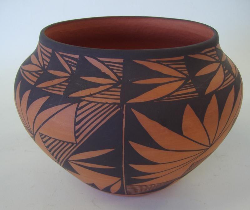 119: Acoma Pottery Vessel, Dorothy Torivio,  Signed DT - 2