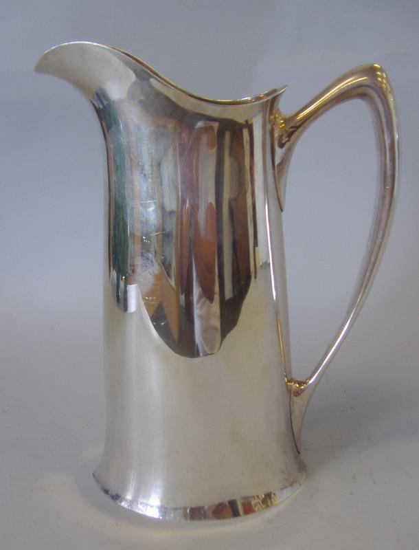 2: Art Nouveau Sterling Silver Water Pitcher, Towle