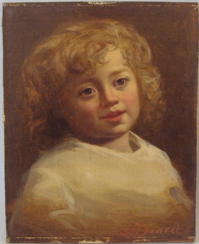 17: James Henry Beard (1811-1893) Young Child