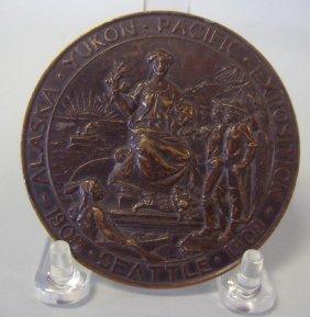 3A: 1909 Alaska Yukon Pacific Exposition Award Medal