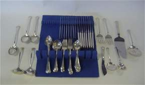 43 Towle Sterling Flatware for 8 Chippendale 76 pcs