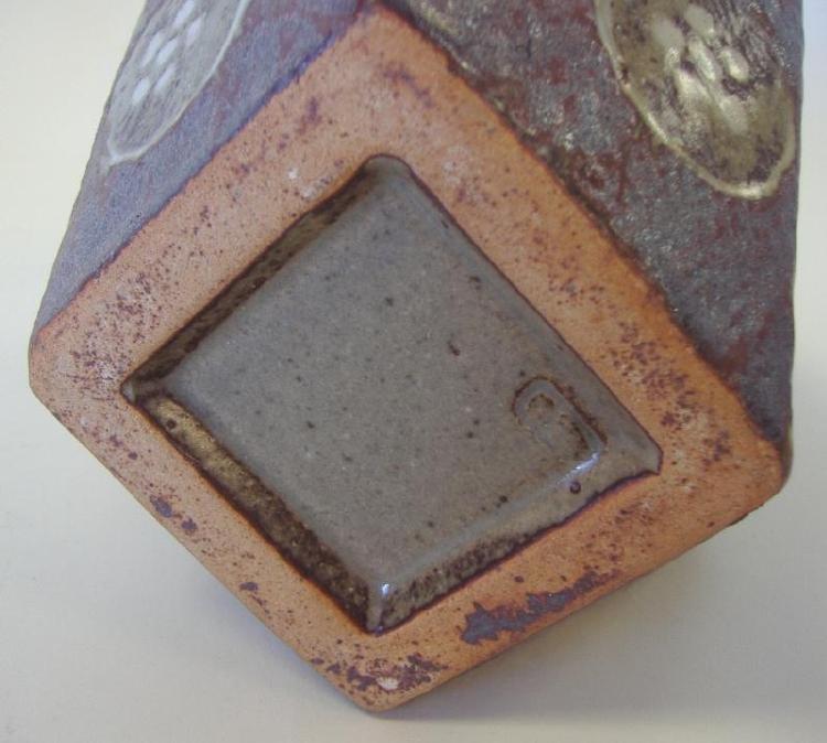 3: Tatsuzo Shimaoka Stoneware Vase, signed - 4