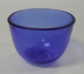 10: Chinese Peking Glass Bowl Tongzhi signed