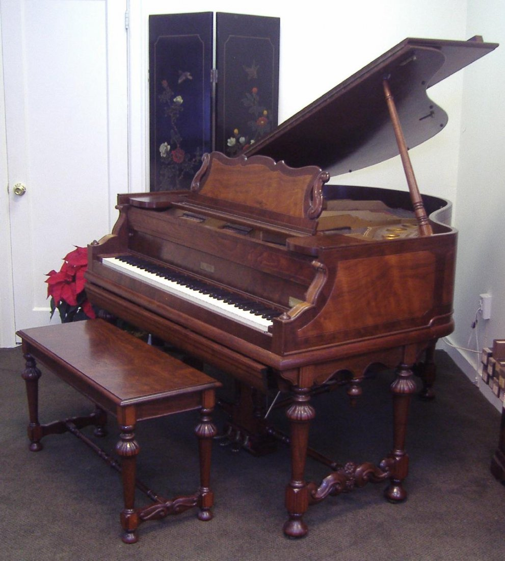 65: Charles Stieff Grand Piano Welte Mignon Monta Bell