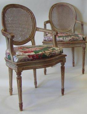 80: Louis XVI Style Chairs, Jacqueline Kennedy Estate