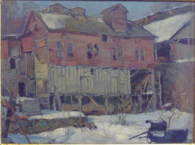 JOHN FABIAN CARLSON (1874-1945) The Derelict Signd