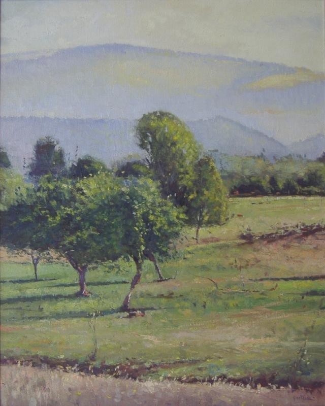 GEORGE VAN HOOK (1954-) California Landscape