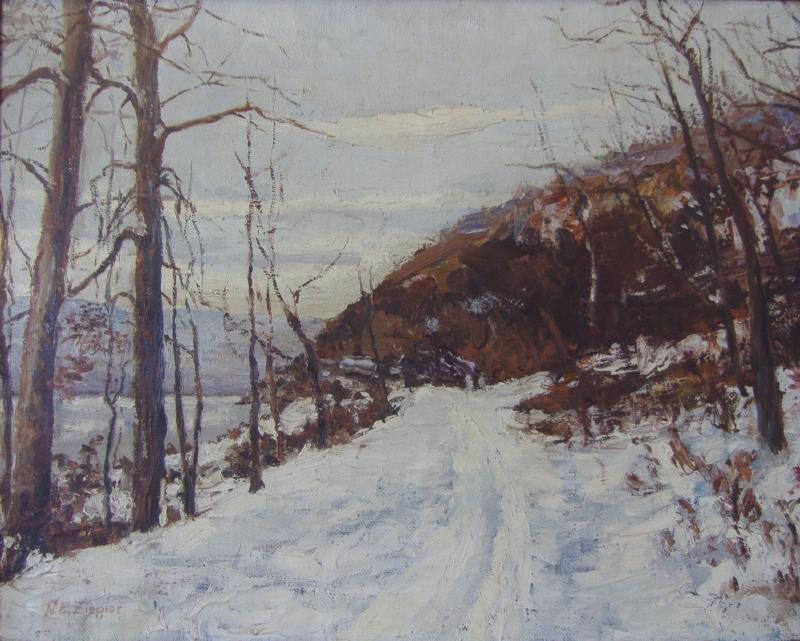 NELLIE ZIEGLER (1874-1948), Landscape