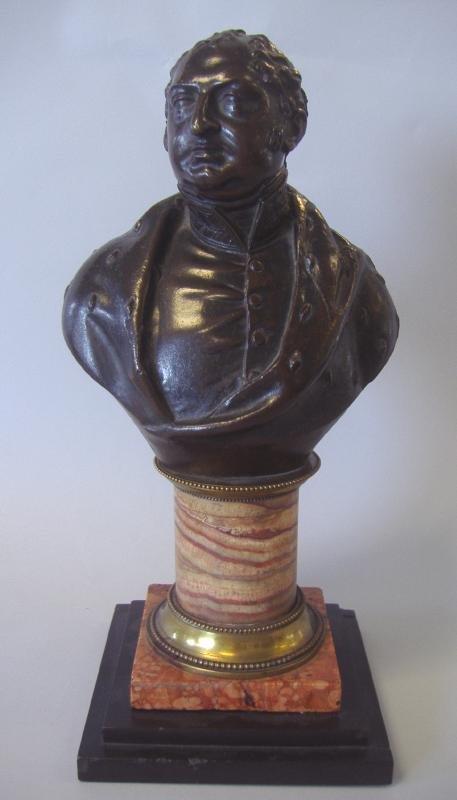 19thc Bronze Bust of The DUKE OF YORK