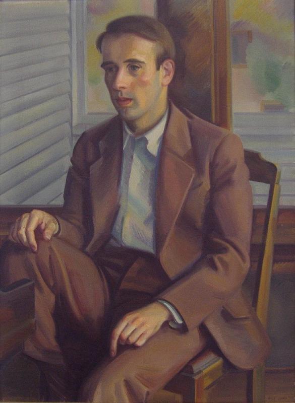 ERLE LORAN (1905-1999) Portrait of John Verrall