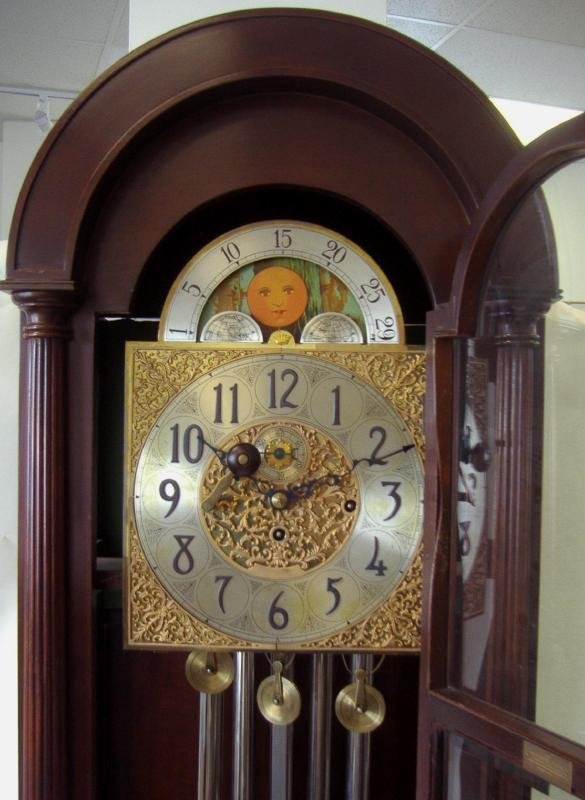 Grandfather Clock, Herschede Hall Clock Company