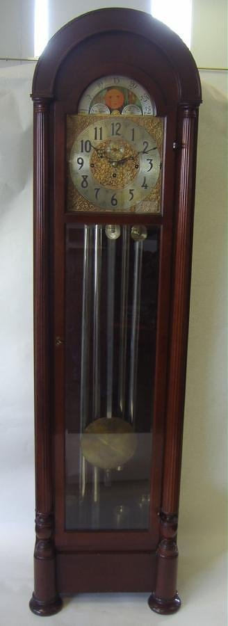 Grandfather Clock, Herschede Hall Clock Company - 2