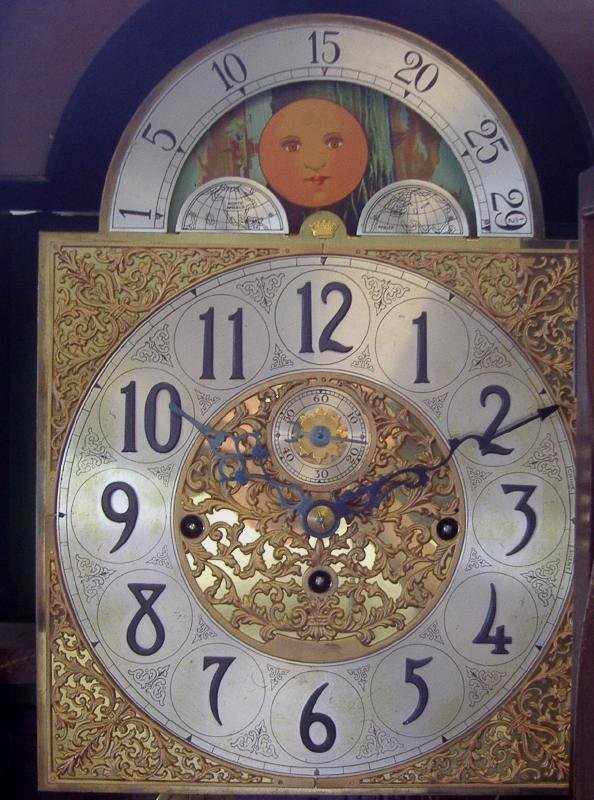 Grandfather Clock, Herschede Hall Clock Company - 3