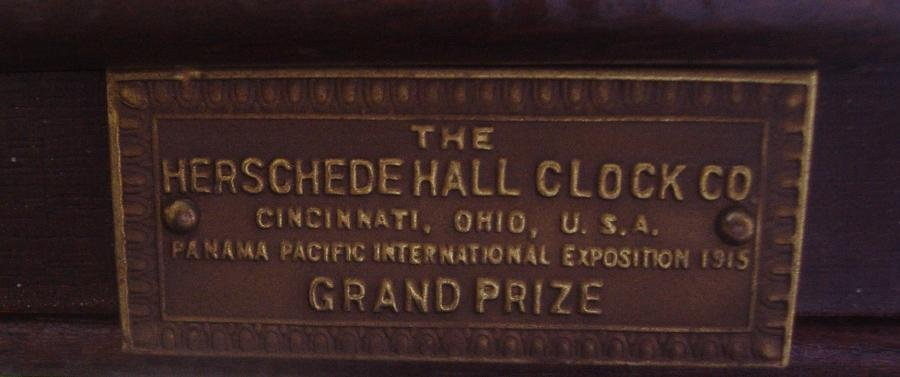 Grandfather Clock, Herschede Hall Clock Company - 5