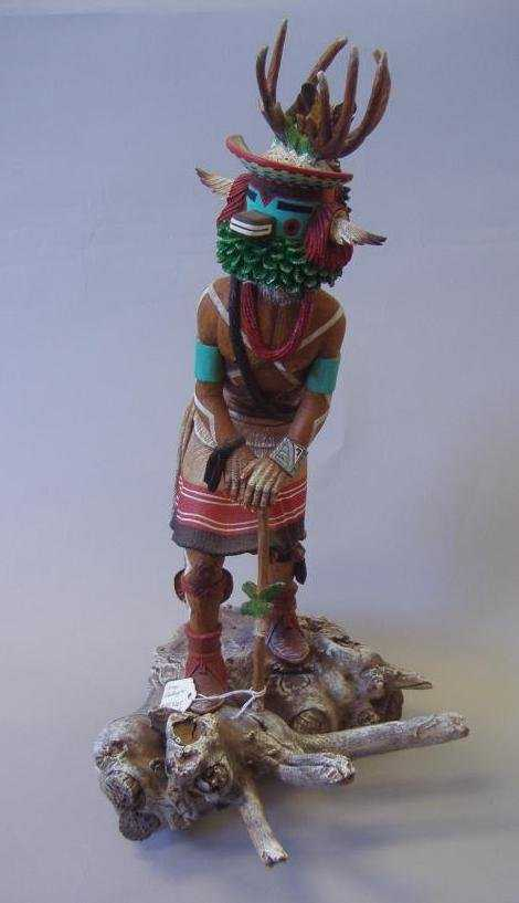 Loren Phillips Hopi Carved Kachina Doll