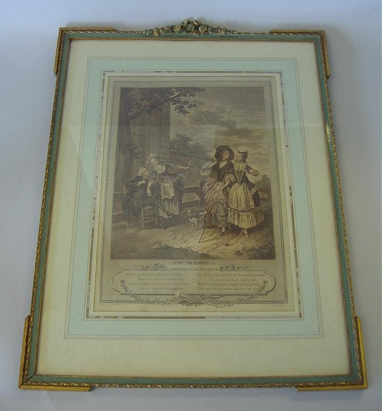 FREUDEBERG La Promenade Du Matin, 1774