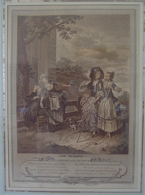 FREUDEBERG La Promenade Du Matin, 1774 - 2