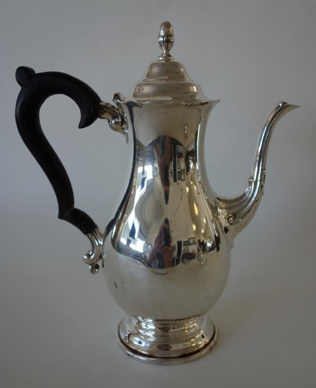 Sterling Coffee Pot, J. Wagner & Son