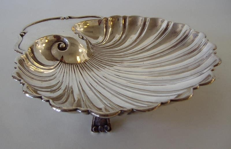 Sterling Shell Formed Bowl, M. Fred Hirsch Co.