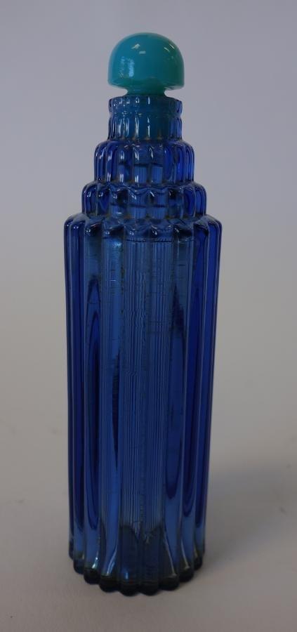 R Lalique Skyscraper Perfume Bottle for Worth
