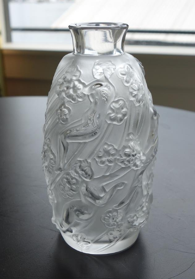 Lalique Perfume Bottle with Nude Females