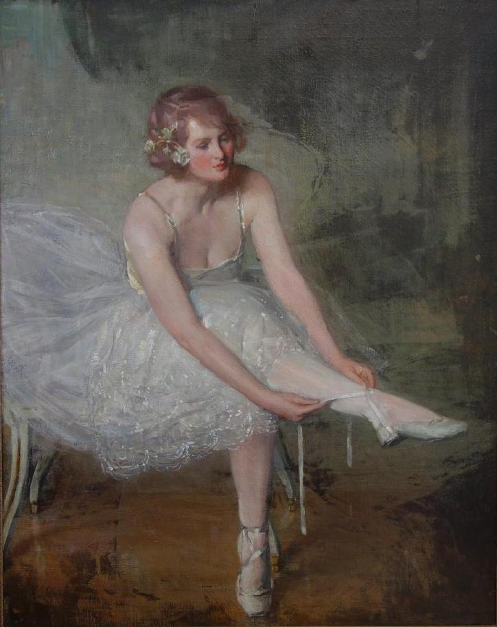 Albert Rosenthal (1863-1939) The Ballet Dancer