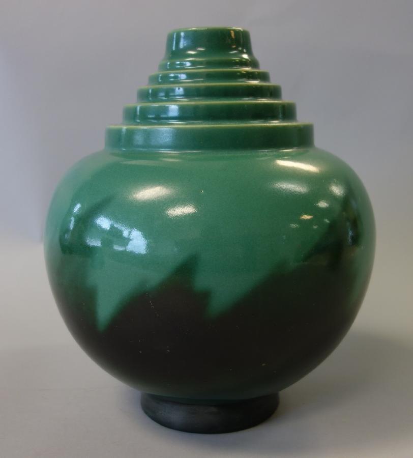 Roseville Futura Vase, Signed