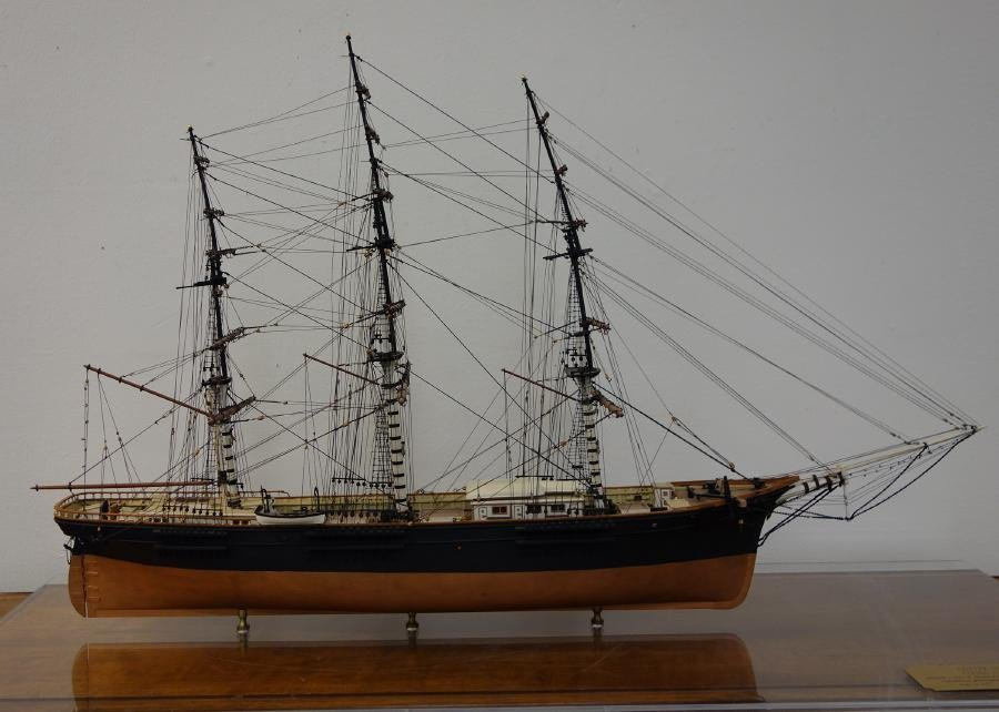 Flying Fish, Clipper Ship Cased Model