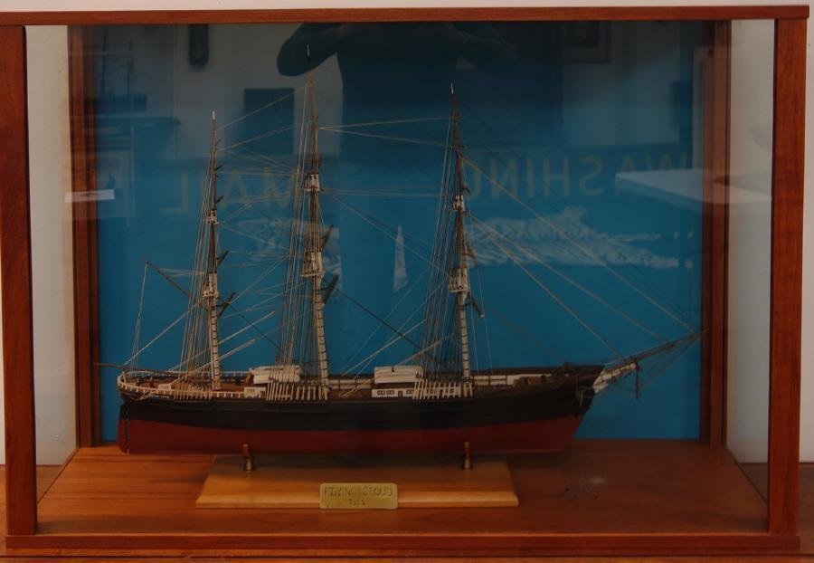 Flying Cloud, Cased Model of Clipper Ship