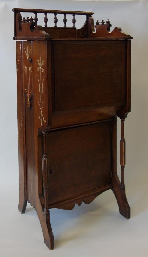 Tournaphone Floor Standing Cabinet Organ & 6 Rolls