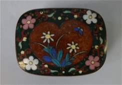Japanese Cloisonne Box, Meiji Period
