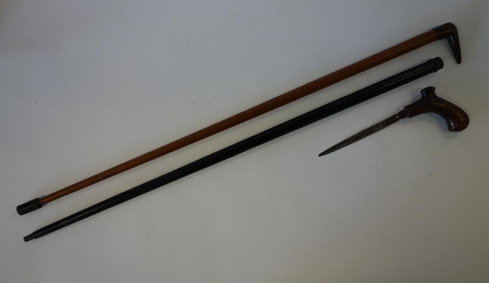 Dagger Cane & Bird Formed Cane / Walking Sticks