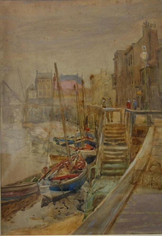 John Francis Rennie, Boats at Dockside