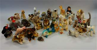 Steiff Stuffed Animal Collection, 36 Vintage