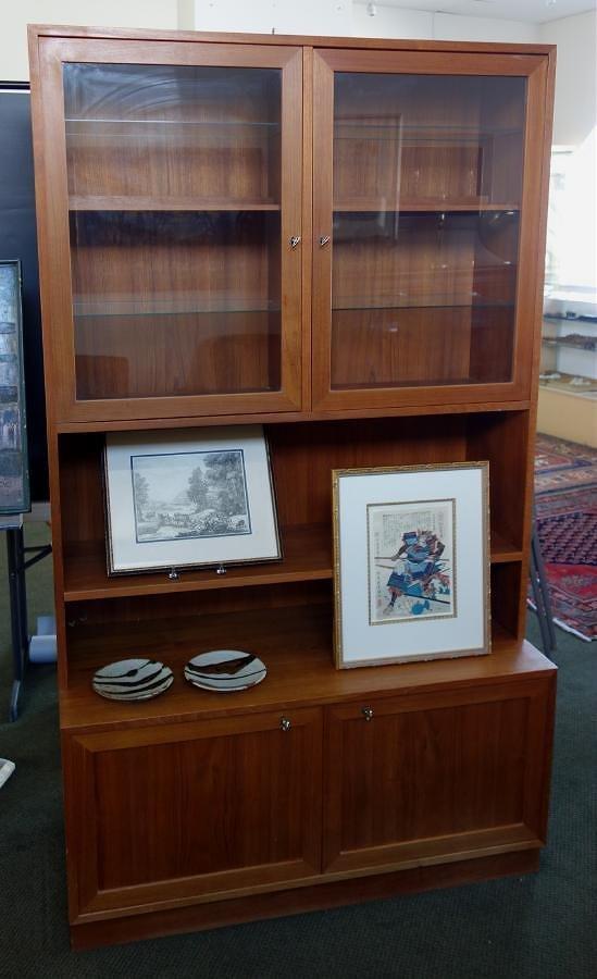 Sejling Skabe Danish Display Cabinet & Credenza