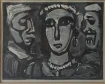 Georges Rouault (1871-1958) Les Visages