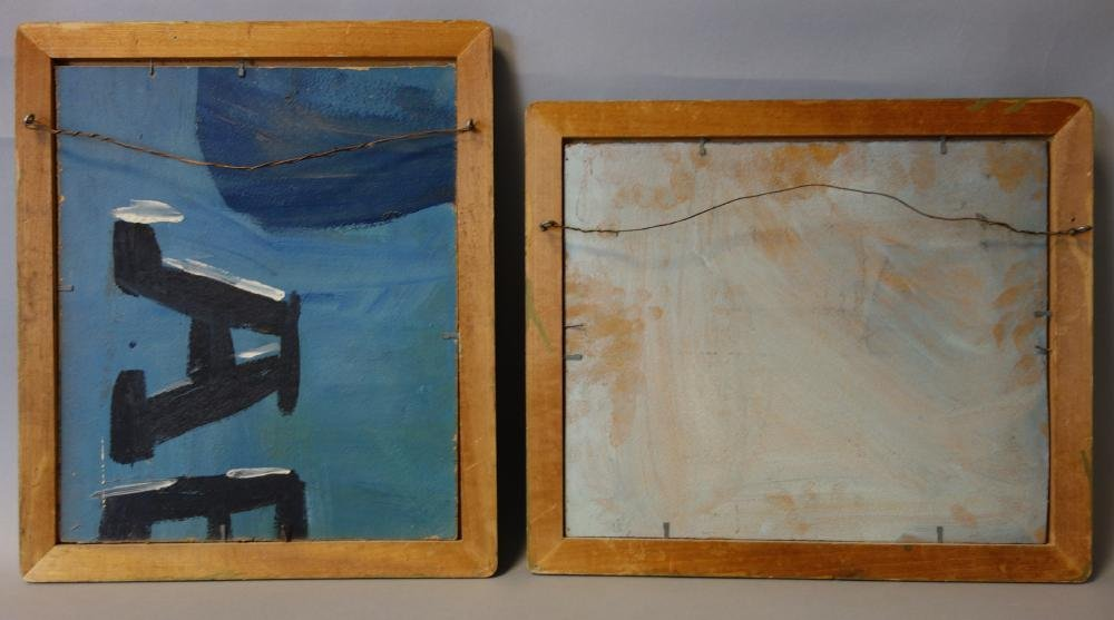 R. Carter, Marine Paintings, Sailing Ships, Maine - 7