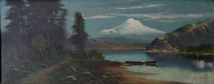 John Englehart (1867-1915) Mt Hood Landscape