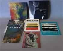 7 Chinese Books on Painting, Woodcuts, Ceramics +