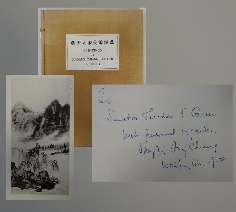 Paintings by Madame Chiang Kai-Shek, Signed +