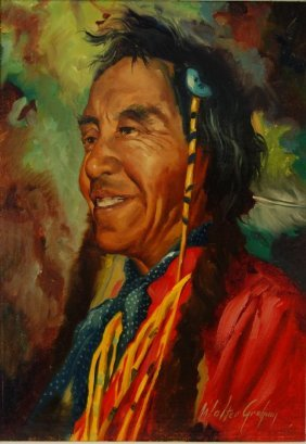 Walter Graham (1903-2000) Native American Indian