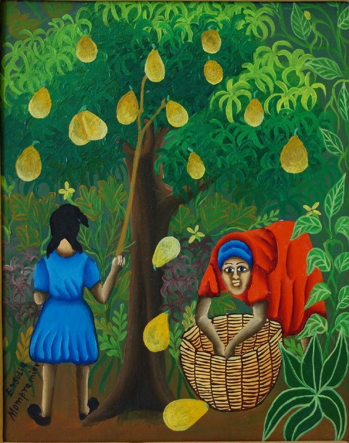Ersulie Mompremier (Haitian) The Fruit Pickers