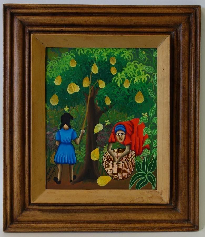 Ersulie Mompremier (Haitian) The Fruit Pickers - 2