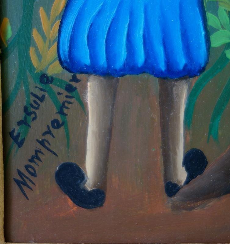 Ersulie Mompremier (Haitian) The Fruit Pickers - 3